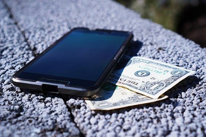 black-smartphone